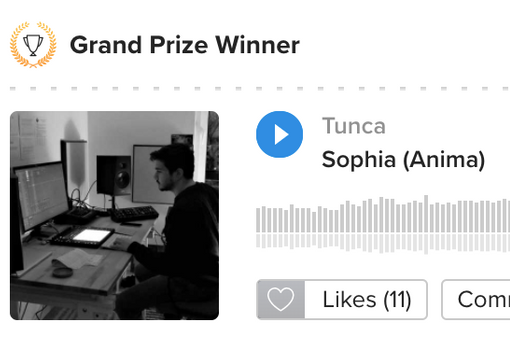 My music won a competition!